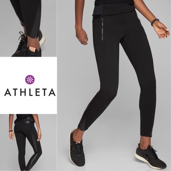 9635ac5c597cbe Athleta Pants | Luxe Ponte Legging Szm Mint Condition | Poshmark